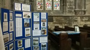 Display at Doncaster Minster 20160701