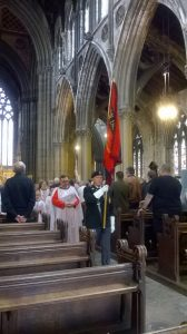 End of service at Doncaster Minster 20160701
